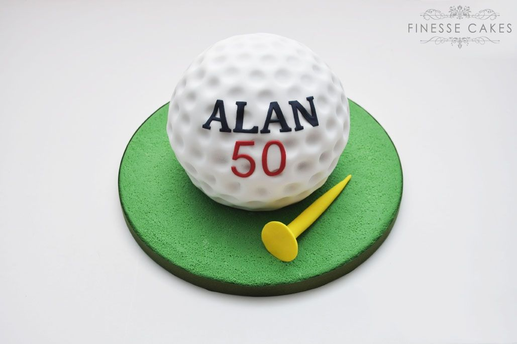 birthday cakes for me golf ball cake