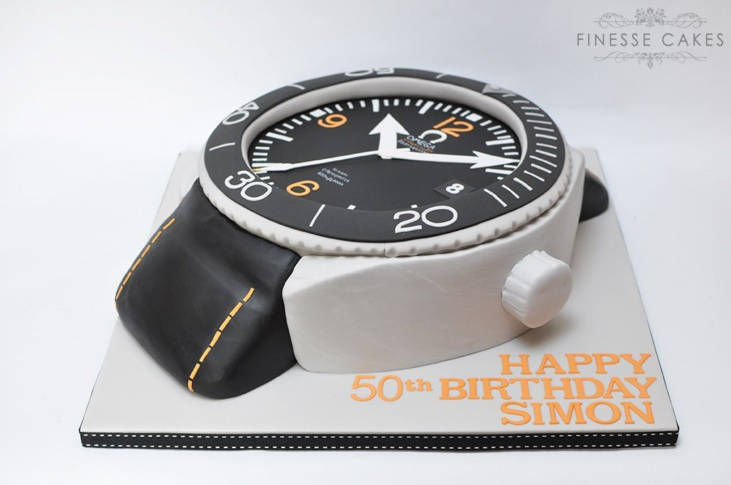 cakes for men birthday omega watch essex hockley southend rayleigh