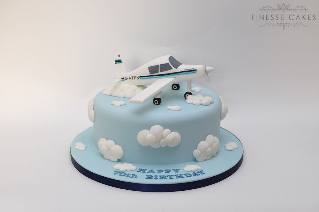 cakes for men birthday flying plane southend hockley