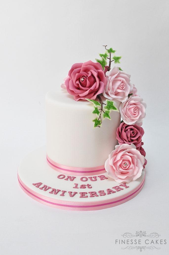 1st anniversary cake essex
